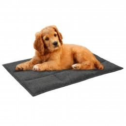 Подстилка для домашних животных BronzeDog Прямоугольная Серая