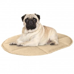 Подстилка для домашних животных BronzeDog Овальная Бежевая