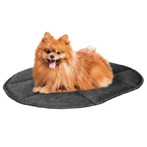 Подстилка для домашних животных BronzeDog Овальная Серая