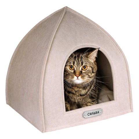 Домик для Животных BronzeDog Палатка Бежевый