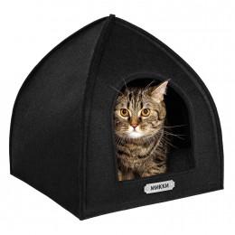 Домик для Животных Палатка Черный