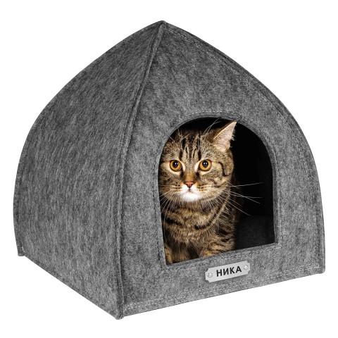 Домик для Животных BronzeDog Палатка Серый
