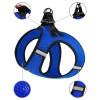 Шлея для собак Bronzedog Mesh Vest 3D сетка синяя