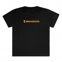 Фирменная футболка TM Bronzedog мужская черная