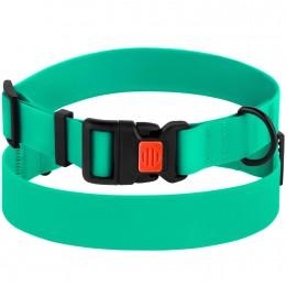 Ошейник для Собак Водоотталкивающий с Защитным Полимерным Покрытием Зеленый