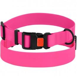 Ошейник для Собак Водоотталкивающий с Защитным Полимерным Покрытием Розовый