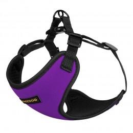 Шлея для Собак Мелких Пород BronzeDog Sport Неопрен 3D Сетка Фиолетовая