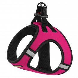 Шлея для собак Bronzedog Sport Vest неопрен 3D сетка розовая