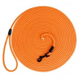 Поводок для Собак Bronzedog Active из Шнура Тренировочный Оранжевый