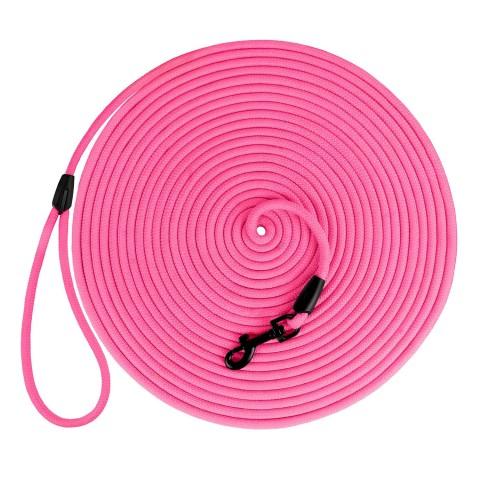 Поводок для Собак Bronzedog Active из Шнура Тренировочный Розовый
