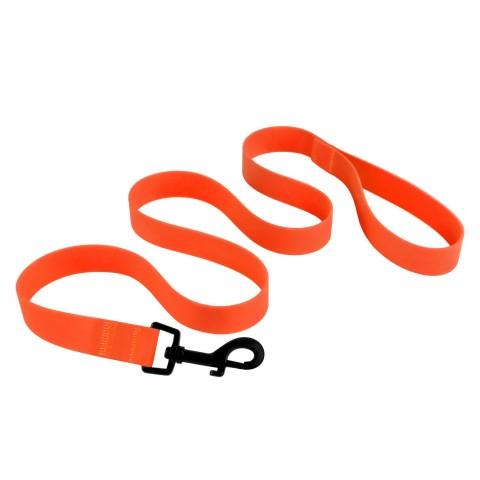 Поводок для Собак Водоотталкивающий с Защитным Полимерным Покрытием Оранжевый