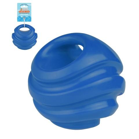 Игрушка для собак Bronzedog FLOAT плавающая Силовой мяч 11 см синий
