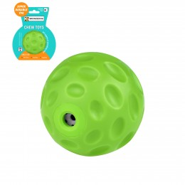 Игрушка для собак Bronzedog FLOAT плавающая Звуковой мяч зеленый 7 см