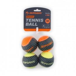 Игрушка для Собак Теннисный Мяч с Пищалкой SKIPDAWG 4 шт 6,4 см