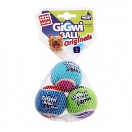 Игрушка для Собак Gigwi Ball Originals Мяч с Пищалкой 3 шт 5 см