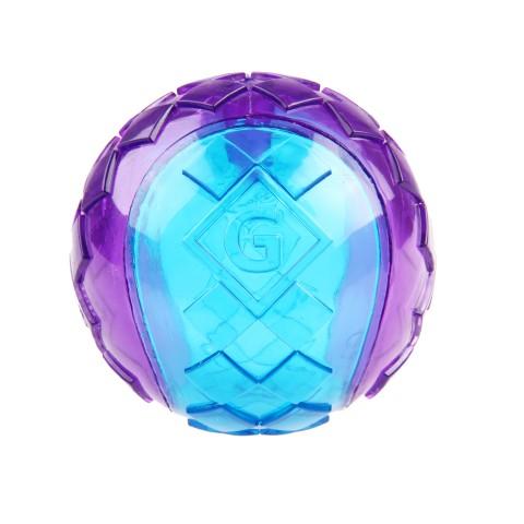 Игрушка для Собак Gigwi Ball Мяч с Пищалкой Сине-Фиолетовый