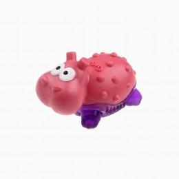 Игрушка Gigwi Suppa Puppa с Пищалкой для Маленьких Собак, Щенков и Котов Гиппопотам 7 см