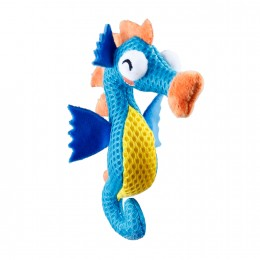 Игрушка для Кошек Gigwi Dental Mesh Морской Конек для Чистки Зубов 14 см