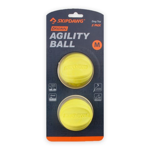Игрушка для Собак Skipdawg Agility Ball Мяч Набор из 2 шт 7 см