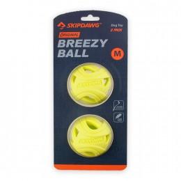Игрушка для Собак Skipdawg Breezy Ball для Облегчения Дыхания TPR Набор из 2 шт 7 см