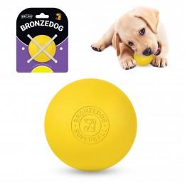 Игрушка для собак Bronzedog Superball 5 см желтый