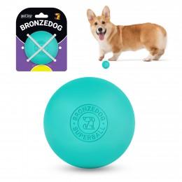 Игрушка для собак Bronzedog Superball 6 см голубой