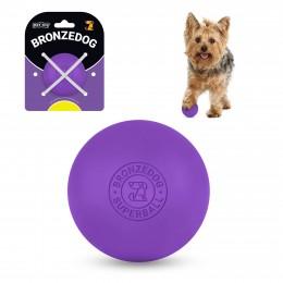 Игрушка для собак Bronzedog Superball 5 см фиолетовый