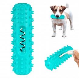 Игрушка Для Собак Bronzedog Petfun Dental Кость С Пищалкой 18 х 6 см