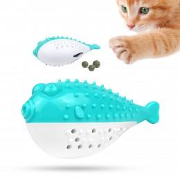 Игрушка для котов и собак Bronzedog PetFun Фугу с кошачьей мятой