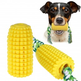 Игрушка для собак Bronzedog PetFun Кукуруза с канатом