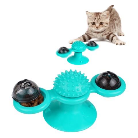 Игрушка для котов Bronzedog  PetFun Карусель с кошачьей мятой