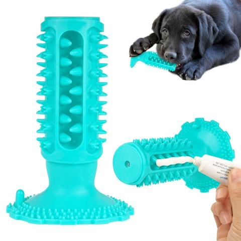 Игрушка для собак Bronzedog PetFun Dental на Присоске с Пищалкой 15 х 10 см