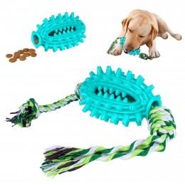 Игрушка Для Собак Bronzedog Petfun Dental Спайк с Канатом 8 х 13 см