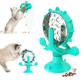 Игрушка  для котов Bronzedog  PetFun Кормушка на присоске ментоловая