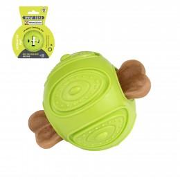 Игрушка для собак Bronzedog SMART мотивационная Мяч 7 х 9 см салатовый